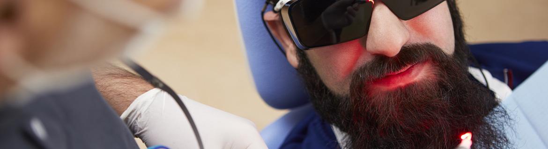 Technische Ausstattung Zahnarzt Bremen Nord - Laserbehandlung