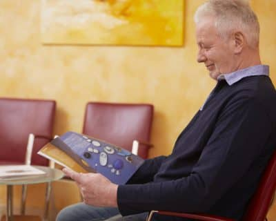 Wartezimmer unserer Zahnarztpraxis in Bremen Vegesack