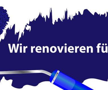 Praxis-Renovierungsarbeiten und Frohe Festtage!