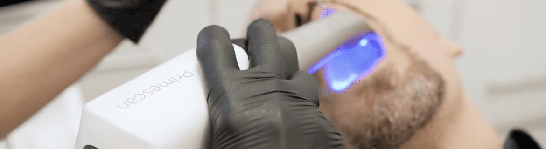 Digitaler Zahnabdruck ohne Würgereiz mit dem Intraoralscanner