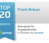 Jameda Bewertungen Top Zahnarzt für Angstpatienten Frank Bräuer Bremen Nord